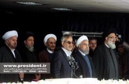 مسئولین استان در جایگاه ورزشگاه مخابرات حضور یافتند