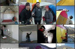 جانپناه شمالی قله دنا بازسازی شد