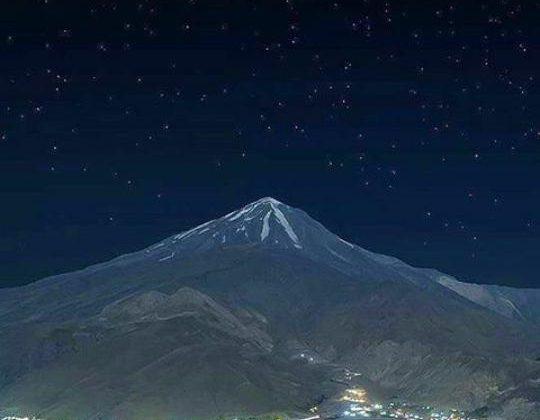 گزارش تصویری قله دماوند