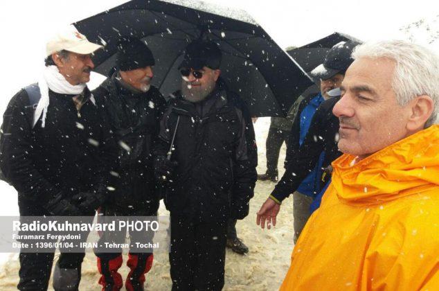 کوهنوردی مسئولین