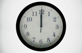 ساعت ۲۴ به ساعت ۲۳ تغییر می یابد