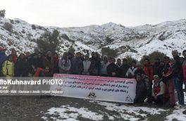 کوهنوردان خراسان جنوبی به ارتفاعات باغران صعود کردند