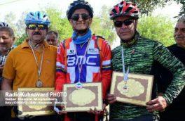 اولین دوره از مسابقات دوچرخهسواری کوهستان در بهبهان برگزار شد