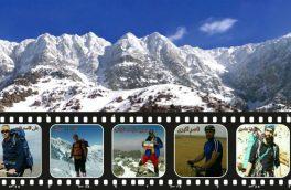 مراسم بدرقه کوهنوردان حادثه اشترانکوه در شهرستان ازنا برگزار شد