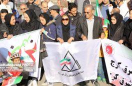 گزارش تصویری حضور کوهنوردان در راهپیمایی ۲۲ بهمن ۱۳۹۶