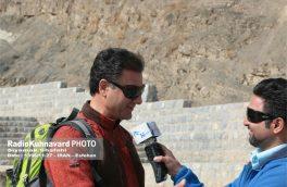 کوه صفه یکی از جاذبه های گردشگری اصفهان