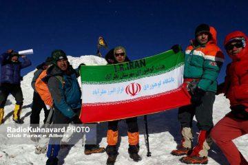 ثبت رکورد صعود سرعتی به قله ۵۱۳۷ متری آرارات توسط رئیس هیئت مدیره خانه مطبوعات استان البرز شکسته شد