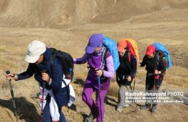 همایش صعود سراسری بانوان به قله پهنه حصار برگزار شد