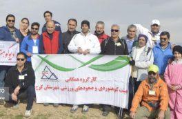 همایش کوهپیمایی و پیاده روی خانوادگی در بوستان طبیعت برگزار شد