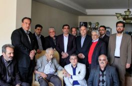 گزارش تصویری به یادماندنی مرحوم استاد محمد ابراهیم رنجبر پیشکسوت رسانه کشور