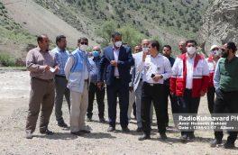 گزارش تصویری بازدید مدیران استان از رودخانه جاده چالوس