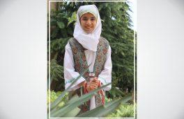دینا شیری زاده شاهنامه خوان البرزی ؛ خبرنگارافتخاری پایگاه خبری رادیوکوهنورد شد