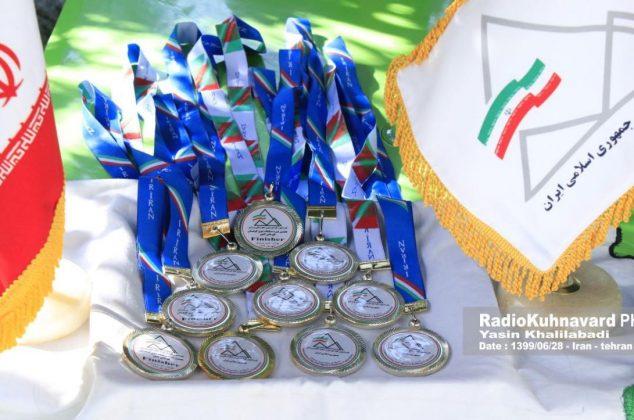 هفتمین دوره مسابقات کشوری دوی کوهستان به کار خود پایان داد