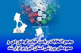 گزارش تصویری مجمع انتخابات ریاست هیات کوهنوردی و صعودهای ورزشی استان البرز
