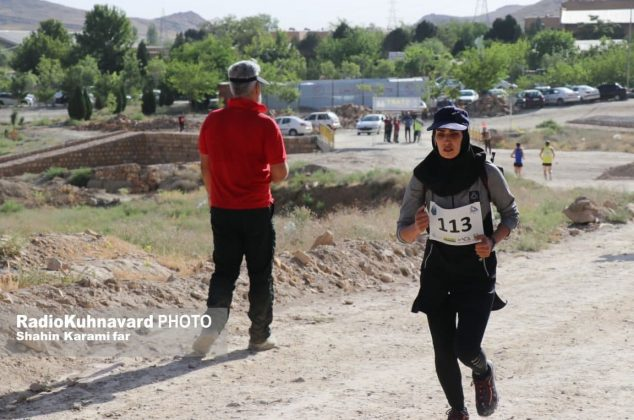 گزارش تصویری مسابقات دوی کوهستان ، انتخابی تیم استان مرکزی